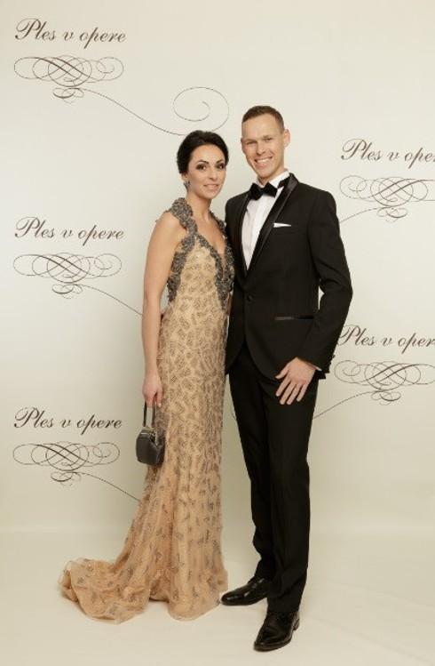 Matej Tóth s manželkou Lenkou