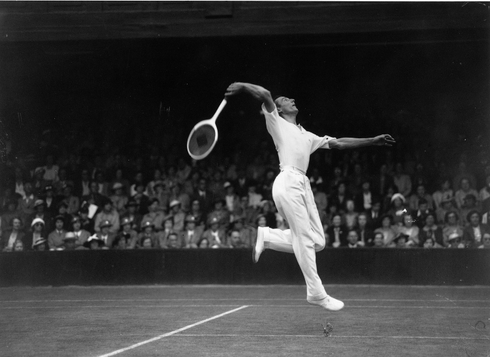 Fred Perry, 29. jún 1936, Wimbledon
