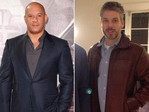 Vin Diesel s dvojičkou