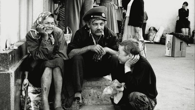 168b74fcad Pozrite si hrôzostrašné fotografie o bezdomoveckej kríze v Moskve