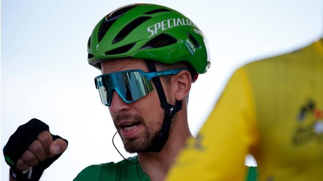 c45df5056ad8d Sagan v šiestej etape netriumfoval, zelený dres si ale stále drží
