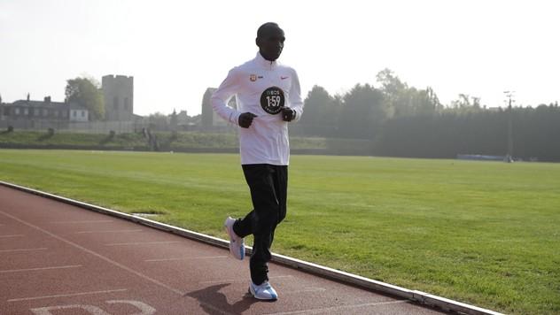 21619edd20930 Sviatok pre fanúšikov behu! Kenský bežec Kipchoge chce zabehnúť maratón pod  dve hodiny neďaleko Slovenska