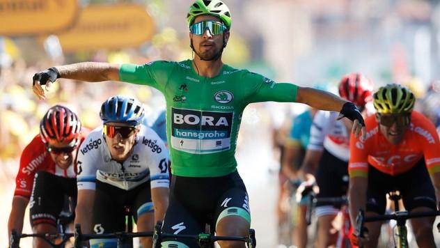 f5eaf69e4 Skvelý výkon Sagana. V 7. etape skončil tretí