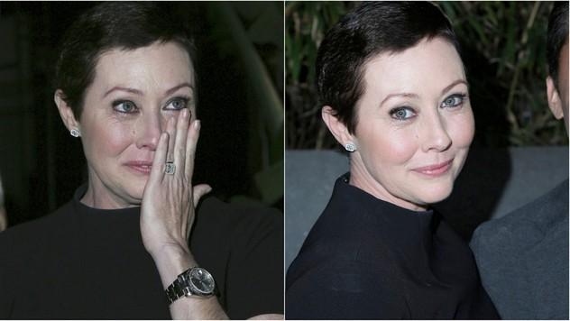 5677bfd65c25e Pár dní po chemoterapii v spoločnosti: Shannen Doherty už vyzerá oveľa  lepšie!