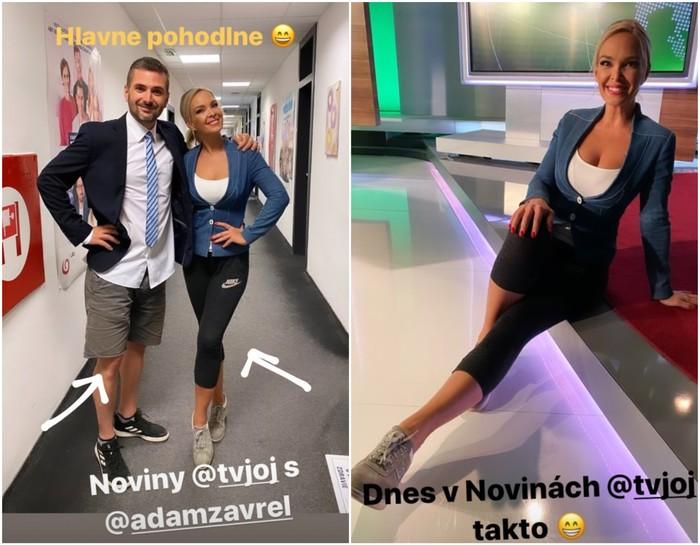Lucka Barmošová a Adam Zavřel