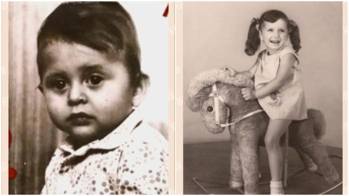 Alexander Bárta a Henrieta Mičkovičová v detstve