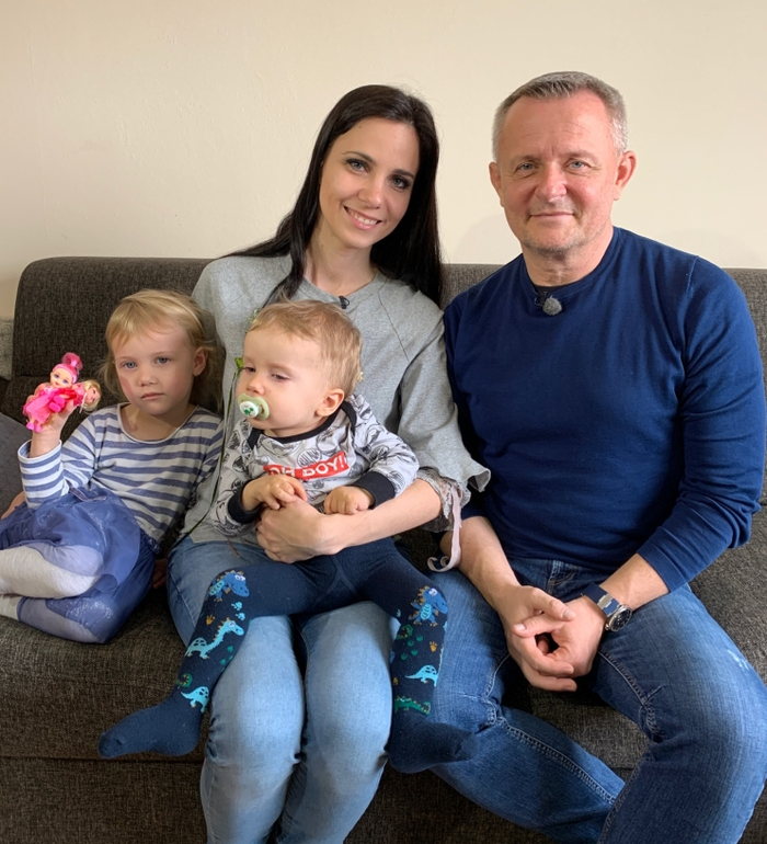 V7N Alexko s rodinou a s Vilom