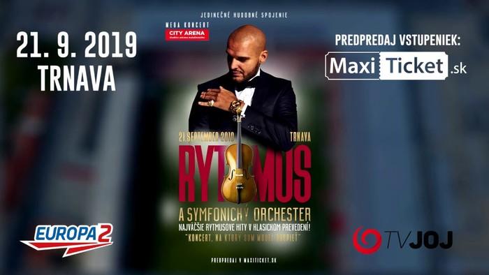 Rytmus a symfonický orchester 2019