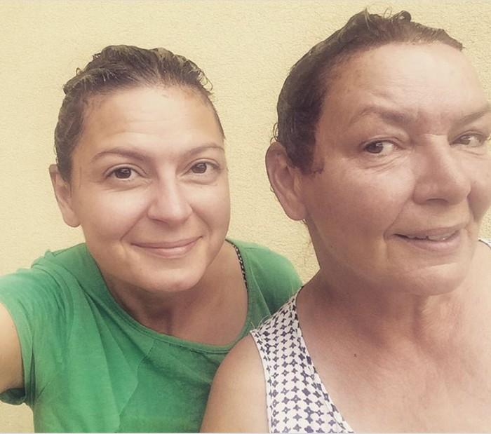 Lujza Garajová Schrameková s mamou