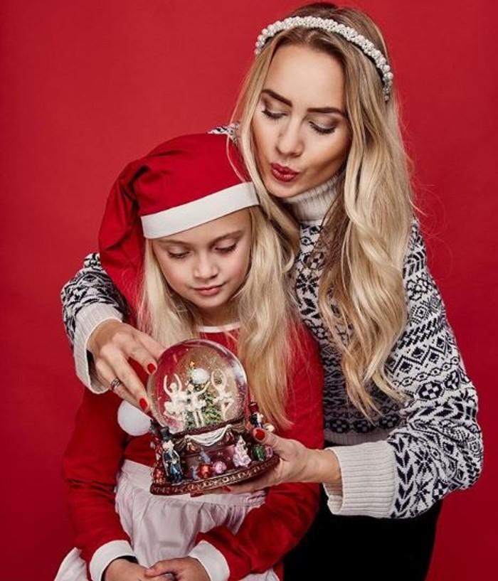 Barbora Krajčírová s dcérou