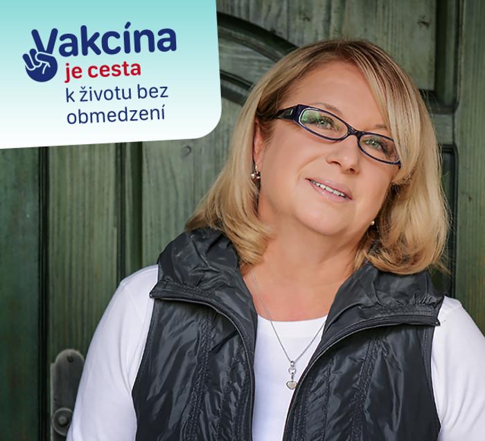 Elena Vacvalová - vakcinacna kampan