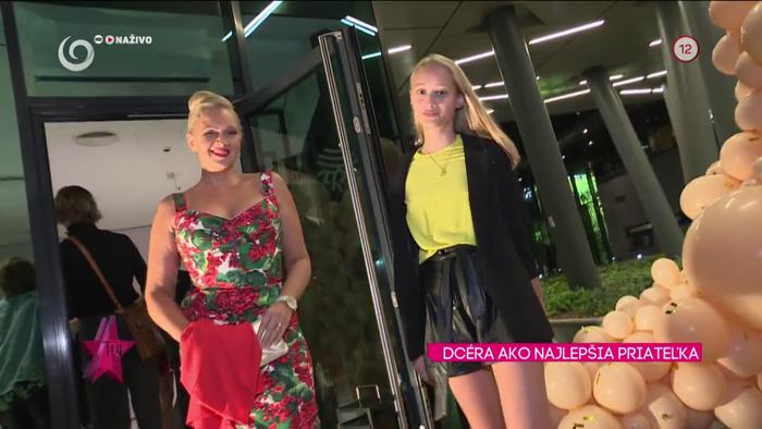 Adriana Kmotríková a dcéra Linda