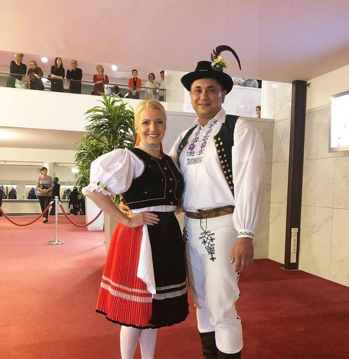 Aneta Parišková s partnerom Miroslavom