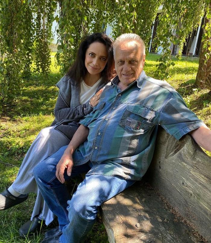 Lucie Bílá s otcom