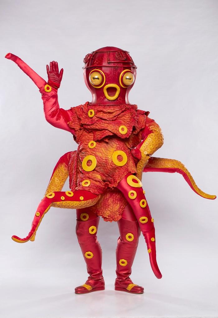 Zlatá maska-Chobotnička