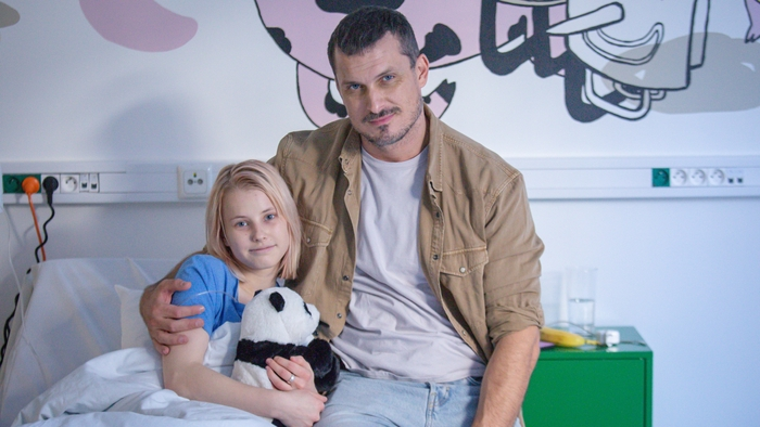 Jenny a otec Milan