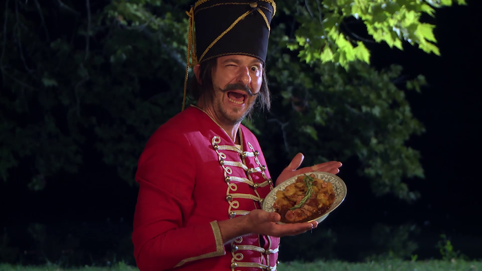 Uhorčík - Zbojnícke recepty - Somlónyiho mladé mäsko