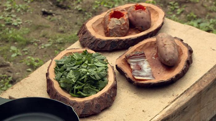 Uhorčík - Zbojnícke recepty - Lávový zemiak
