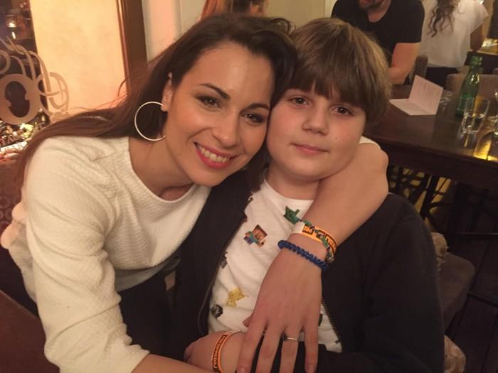 Kristína Greppelová so synom Adamkom