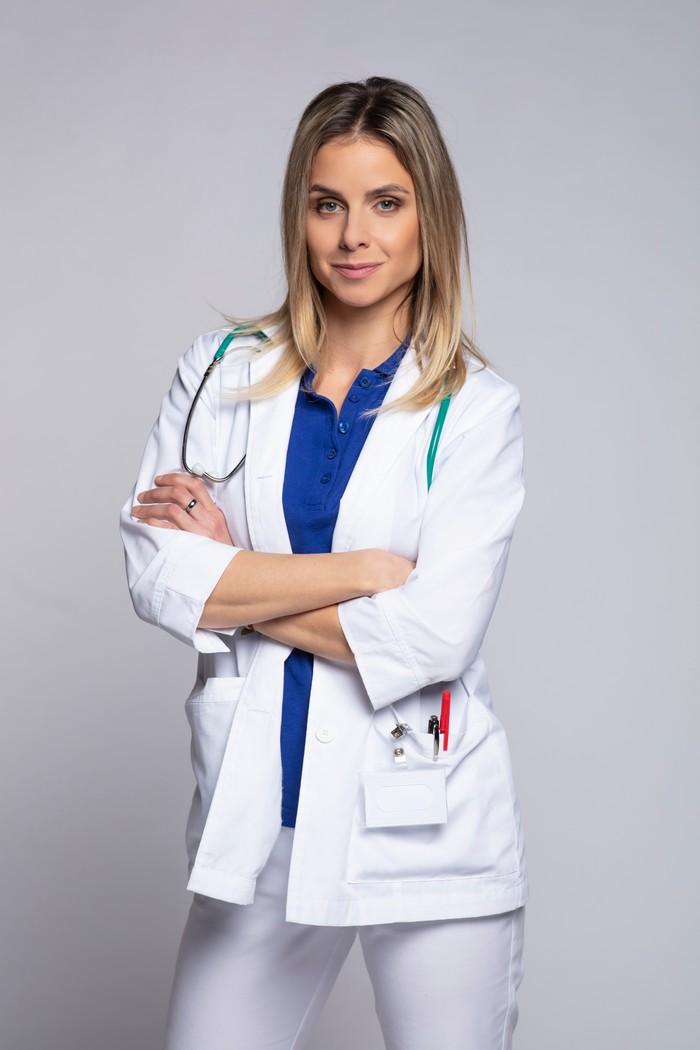 Nela Pocisková v seriáli Nemocnica