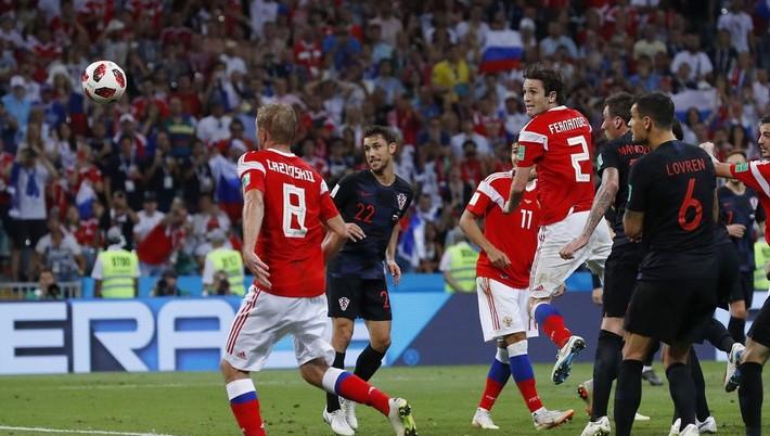 0104ea541 Ohlasy médií na sobotňajší štvrťfinálový zápas XXI. majstrovstiev sveta vo  futbale Chorvátsko - Rusko 2:2 po predĺžení (1:1, 1:1) - 4:3 na strely zo  značky ...