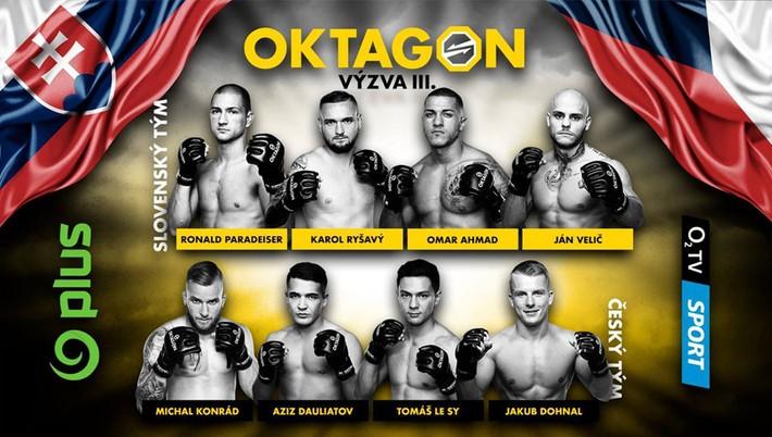 Oktagon Photo: Predstavujeme: Slovenskí Zástupcovia šou OKTAGON Výzva 3