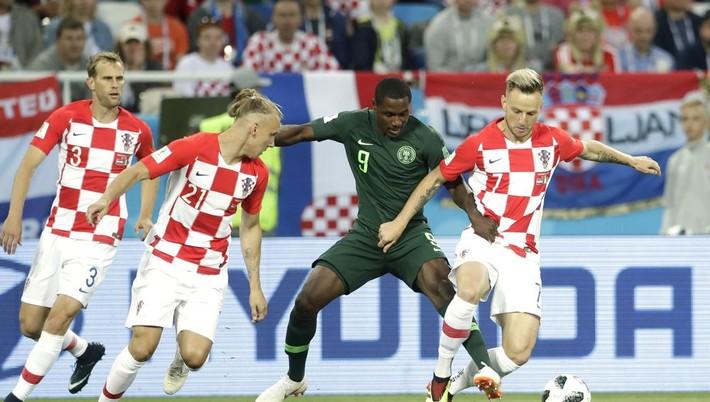 544cd59b5 Futbalisti Chorvátska zvíťazili nad reprezentantmi Nigérie 2:0 vo svojom  úvodnom vystúpení na majstrovstvách sveta 2018 v Rusku a dostali sa na čelo  tabuľky ...