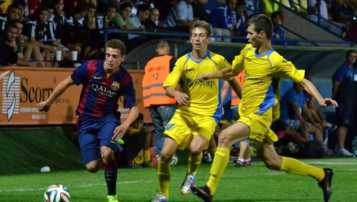 d2e084ce75339 Futbalisti španielskeho veľkoklubu FC Barcelona sa predstavia na prestížnom  mládežníckom turnaji Michalovce Cup, ktorý sa vracia do metropoly Zemplína  po ...