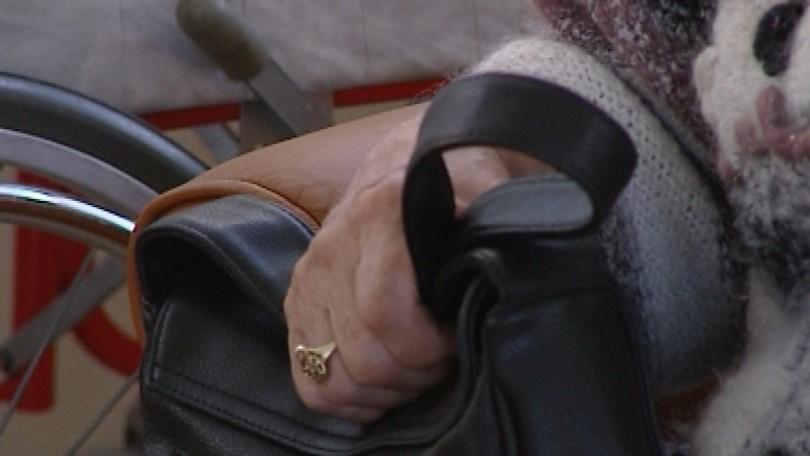 Počas vykladania nákupu jej ukradol kabelku 5eab8a9ac43