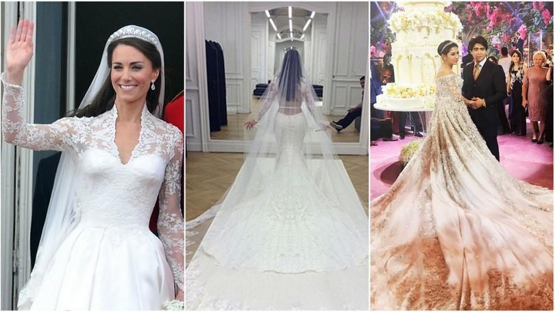 TOP najdrahšie svadobné šaty  Čo poviete da9a72100f6