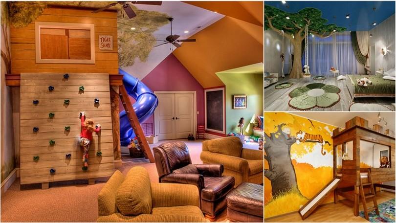 ca72ddfb5e72 Vytvorte deťom kreatívny priestor  15 nápadov na detskú izbu snov