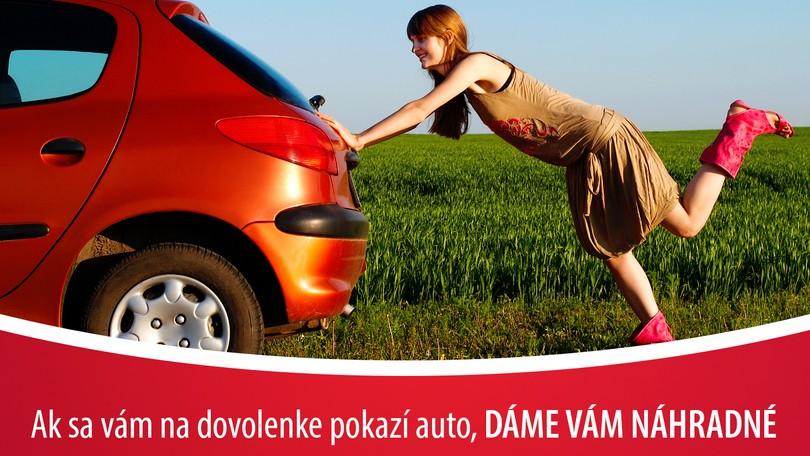 4722fc7ec Ak sa vám cez dovolenku pokazí auto, dostanete od nás náhradné | Noviny.sk