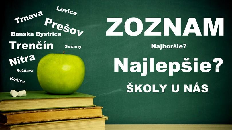 REBRÍČEK. Najlepšie základné a stredné školy na Slovensku 7124e929492