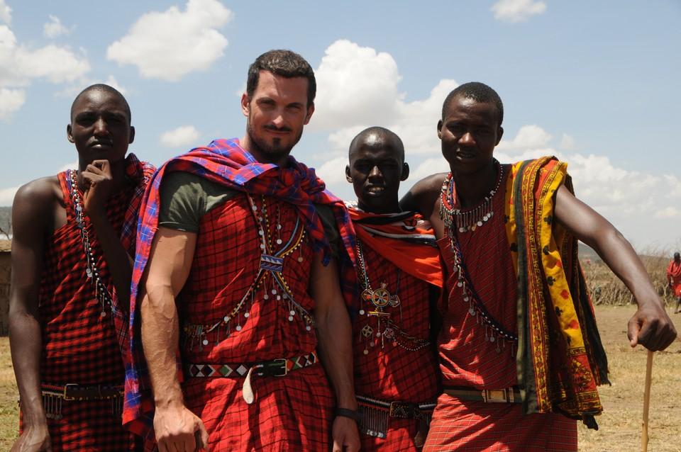 Nakrúcanie v Afrike 16