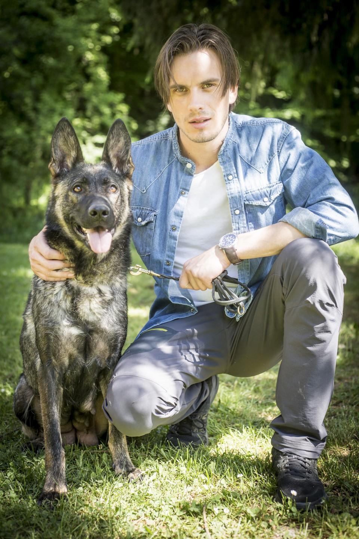 Andrej s vlkom
