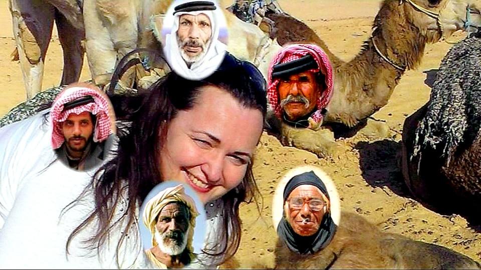 Názlerová v Tunisku
