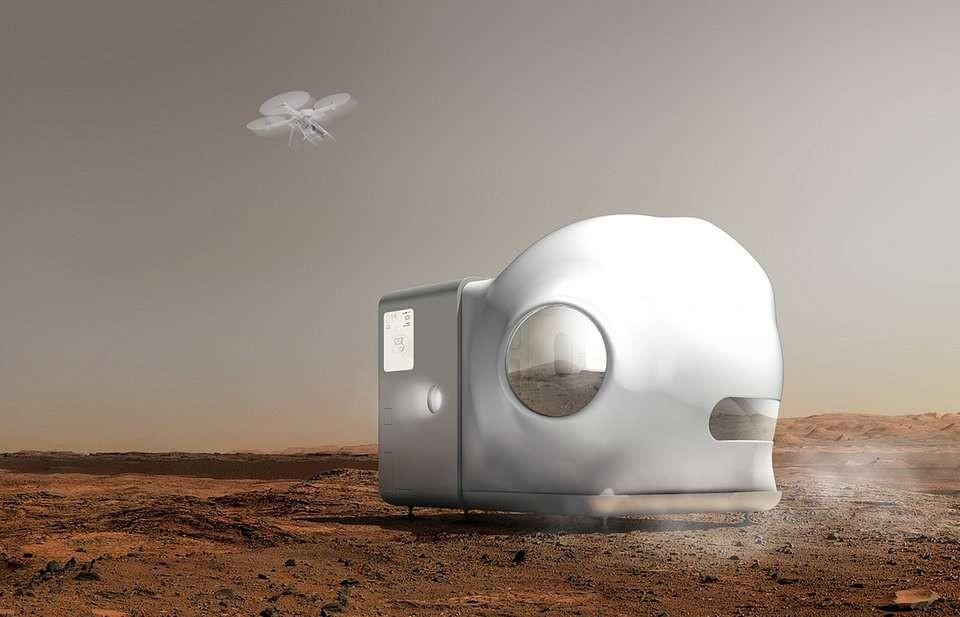 Základňa na Marse od Xiaomi (6)