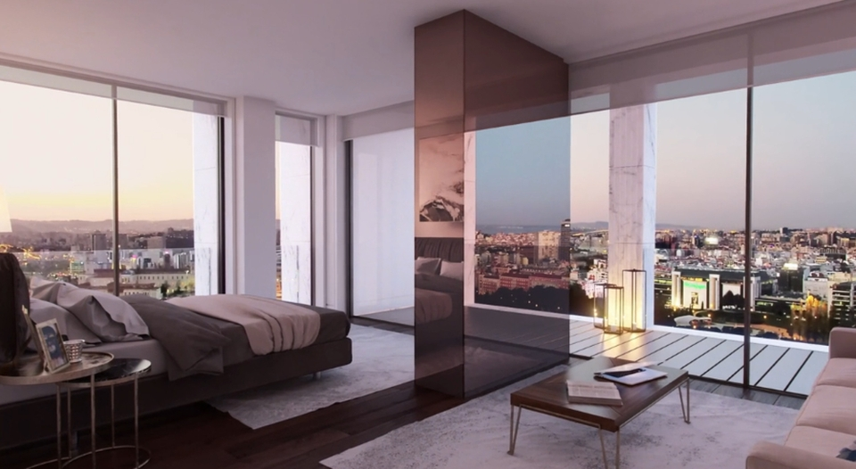 Nový byt Cristiana Ronalda