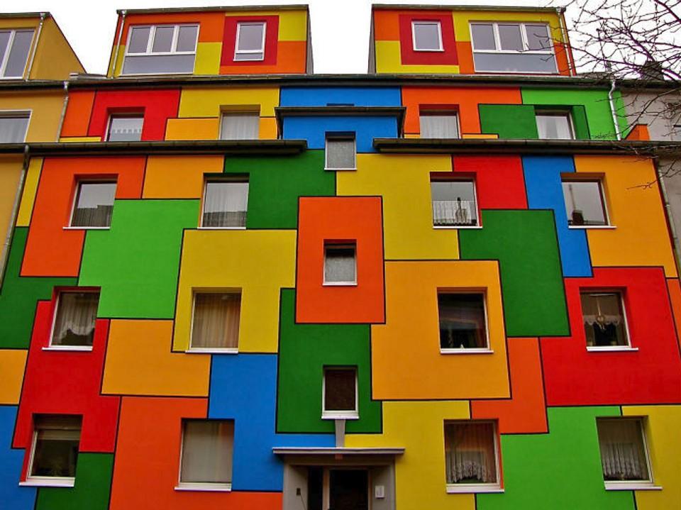 Najfarebnejšie domy