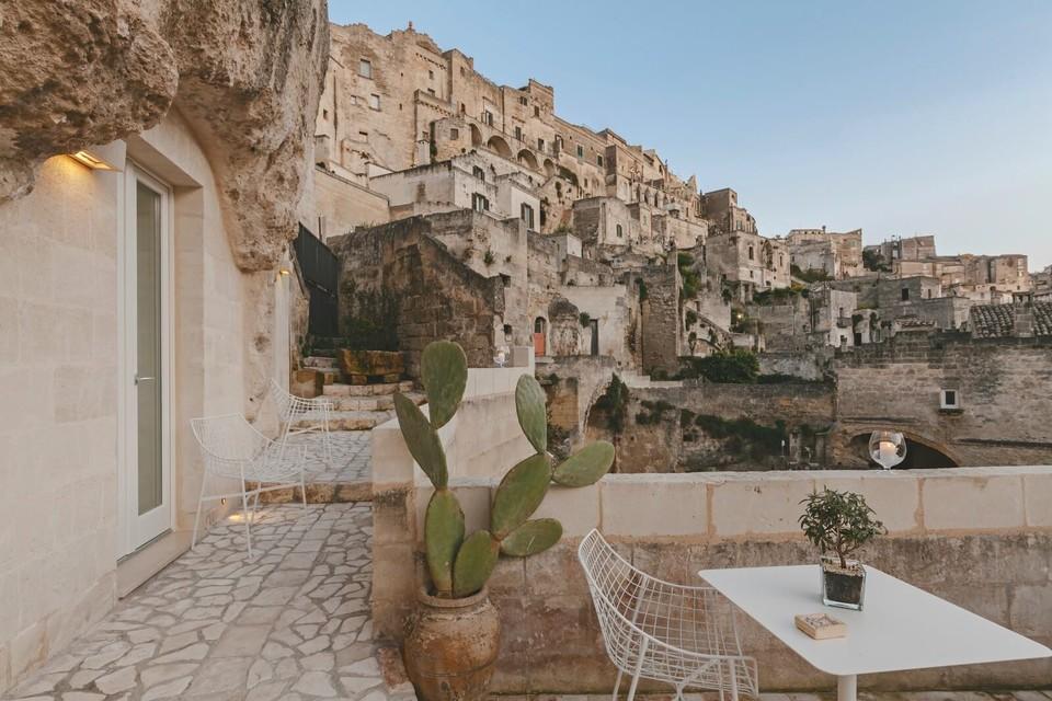Luxusný hotel v jaskyni