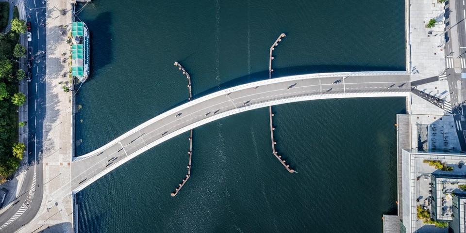 Most pre cyklistov v Kodani