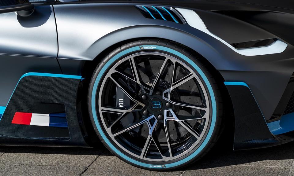 Bugatti Divo v Paríži