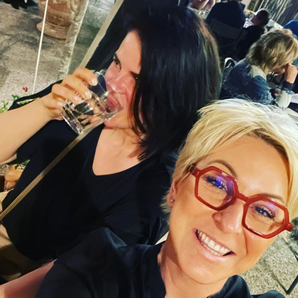 Wanda Adamik Hrycová a Zuzana Fialová