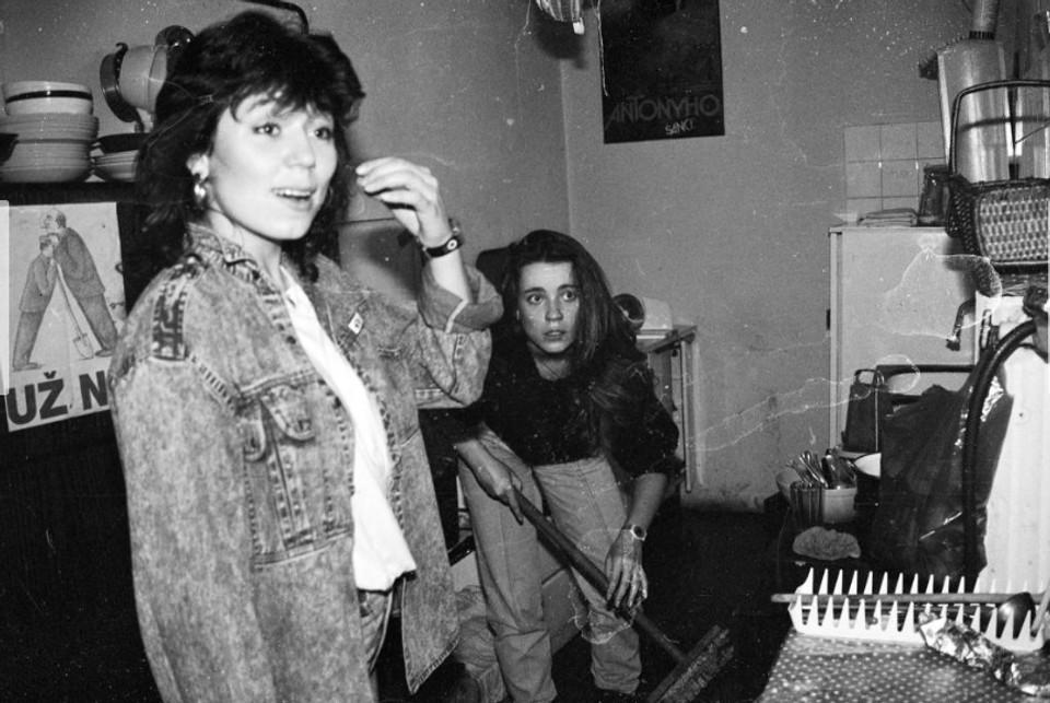 Diana Mórová a Silvia Petoová