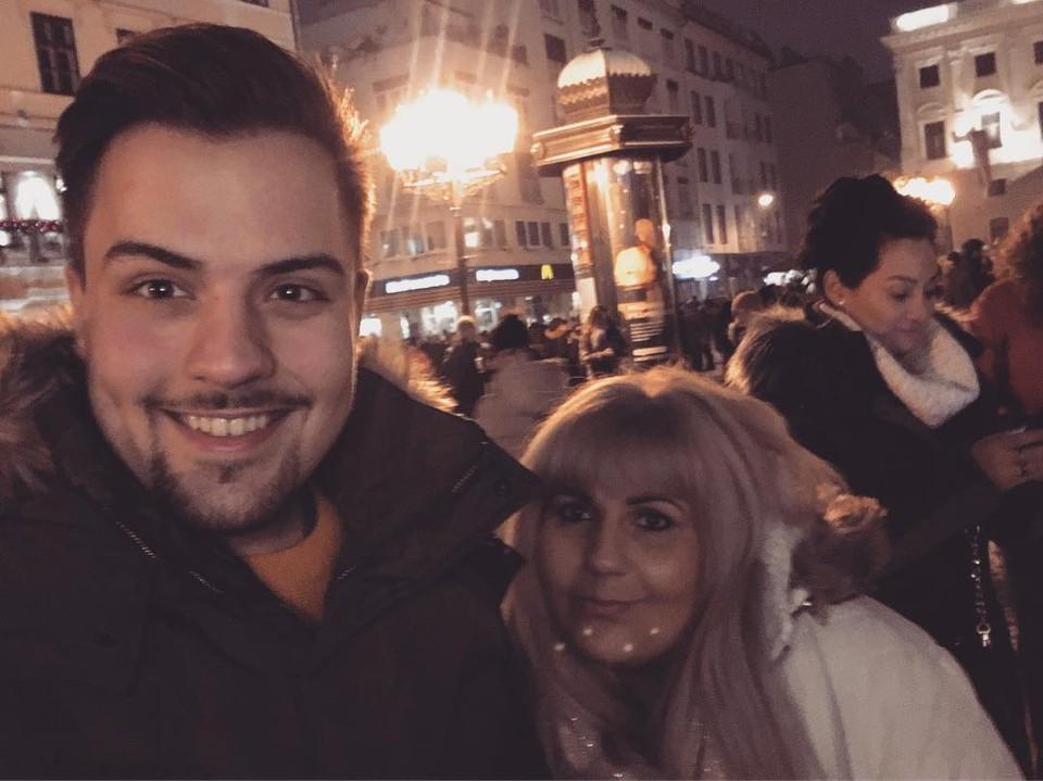 Miro Lhota s mamou Helenou