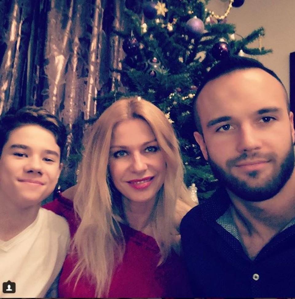 Katarína Jesenská a jej synovia Jakub a Samko