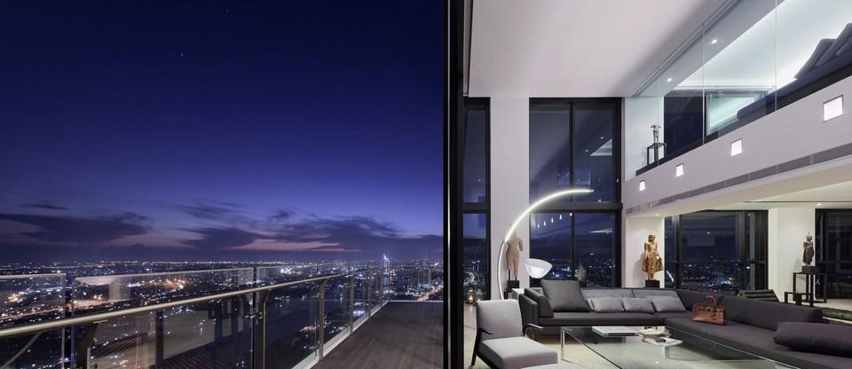 Luxusný triplex v Bangkoku