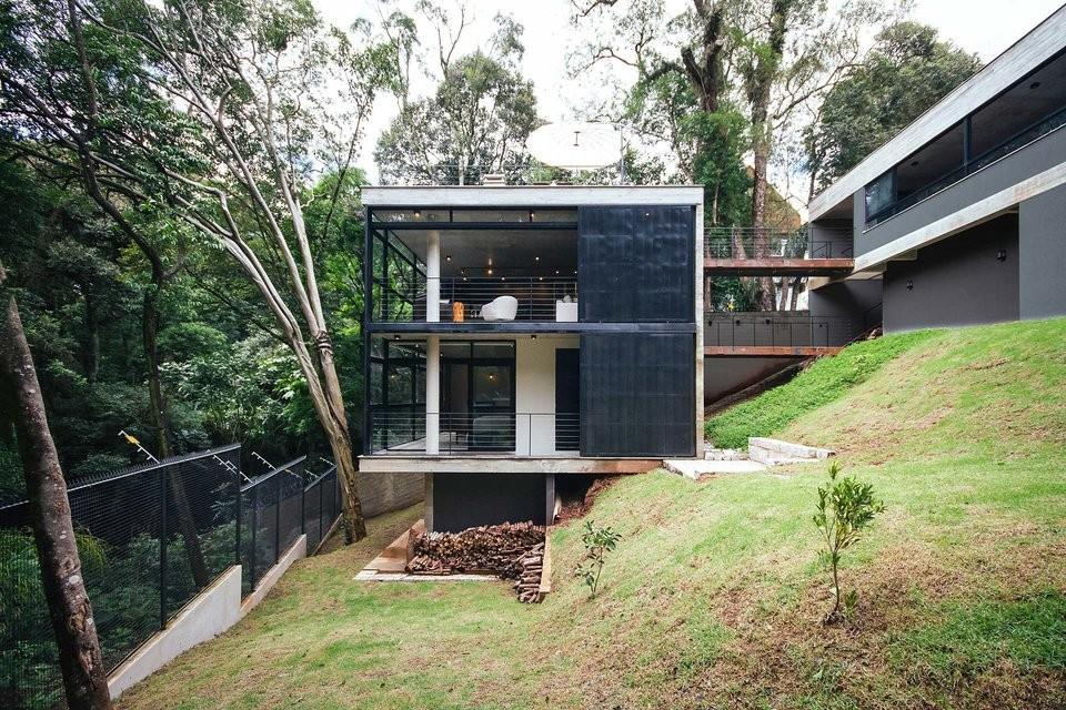 Luxusná vila v brazílskej džungli