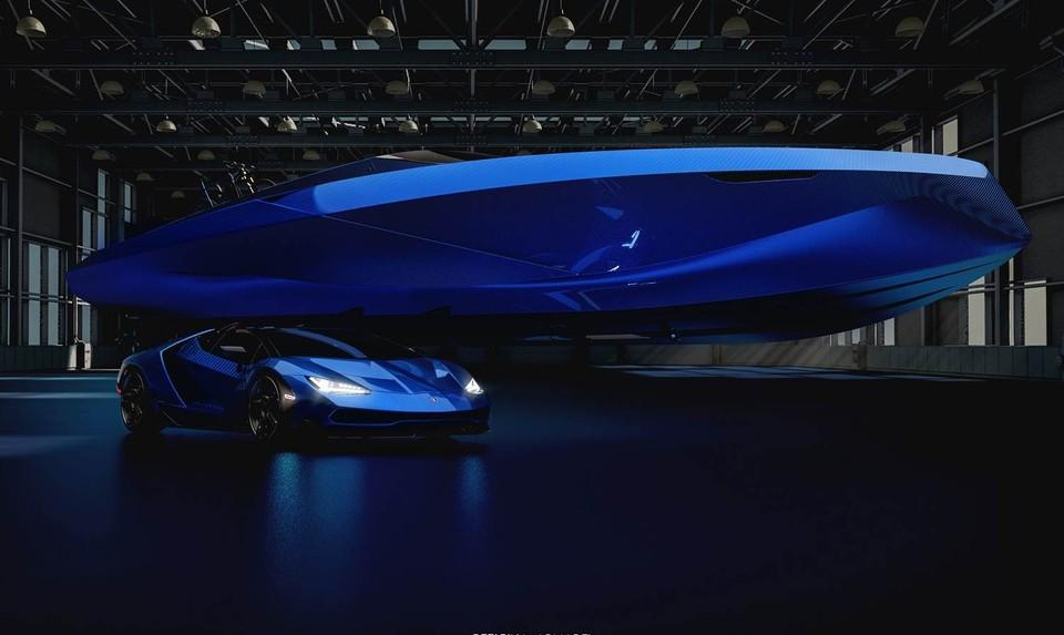 Motorový čln Lamborghini A43