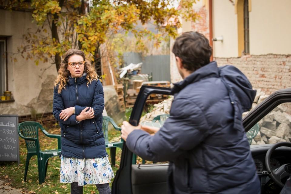 Dominika Kavaschová v seriáli Vlci